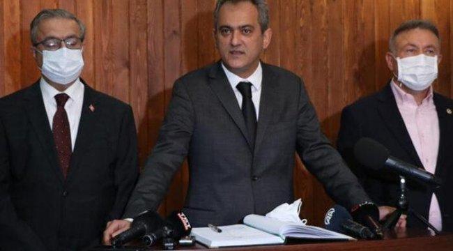 Bakan Özer yüz yüze eğitimde 1 haftalık bilançoyu açıkladı: 198 derslikte eğitime ara verildi