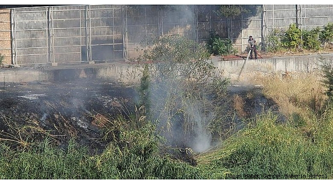 Basmane Çukuru'nda Korkutan Yangın