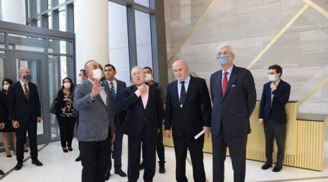 Dışişleri Bakanı Çavuşoğlu 76. BM Genel Kurulu İçin New York'ta