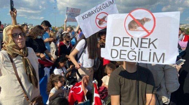 İstanbul'da Toplanan Aşı Karşıtlarından 'Seçim' Tehdidi