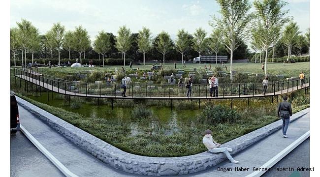 """İzmir'de kuraklığa karşı """"yağmur bahçeleri"""